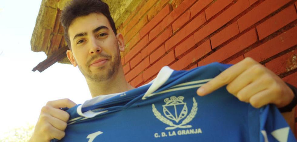 Alfonso Mateos, primer fichaje del CD La Granja