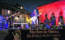 El rock de La Frontera despide Las Noches del Atrio de San Lorenzo