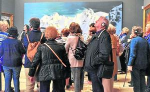 Las Edades recibieron 4.000 visitantes en mayo a pesar del mal tiempo en Aguilar