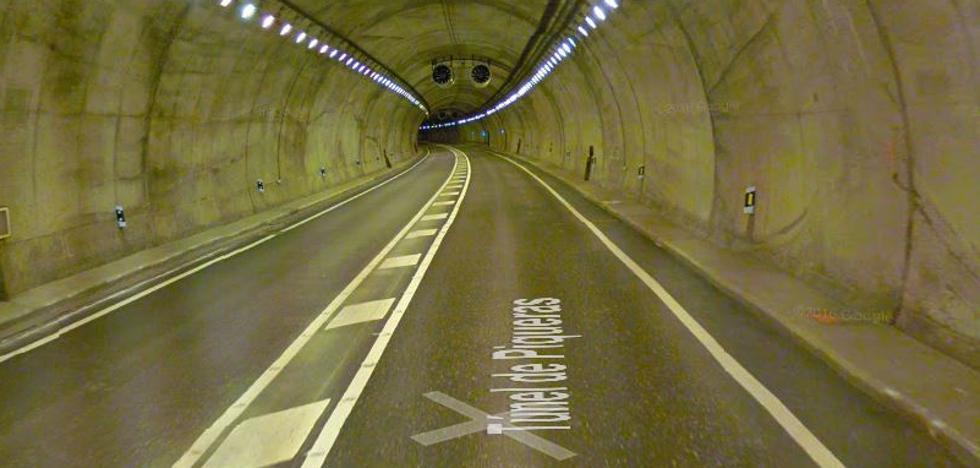 El túnel de Piqueras en la N-111 estará cortado del 18 al 21 de junio por trabajos de mantenimiento