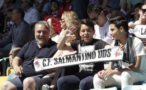El CF Salmantino UDS ya tiene 600 entradas para Santiago pero podrían llegar más