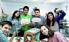 Alumnos del instituto Montaña Palentina, finalistas en un concurso nacional