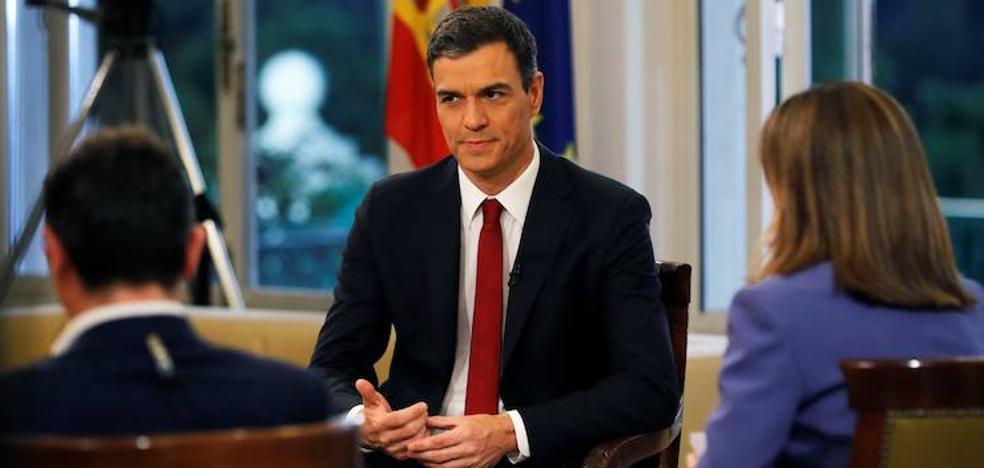 Pedro Sánchez descarta el adelanto electoral para agotar la legislatura en 2020