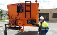 El Consistorio incorpora un nuevo termocontenedor para asfaltos