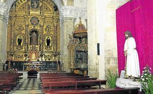 La cofradía de la Sentencia de Palencia se traslada a las Recoletas