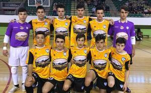 El Reina Kilama FS Salamanca no puede lograr el pase a la Final-Four Nacional cadete
