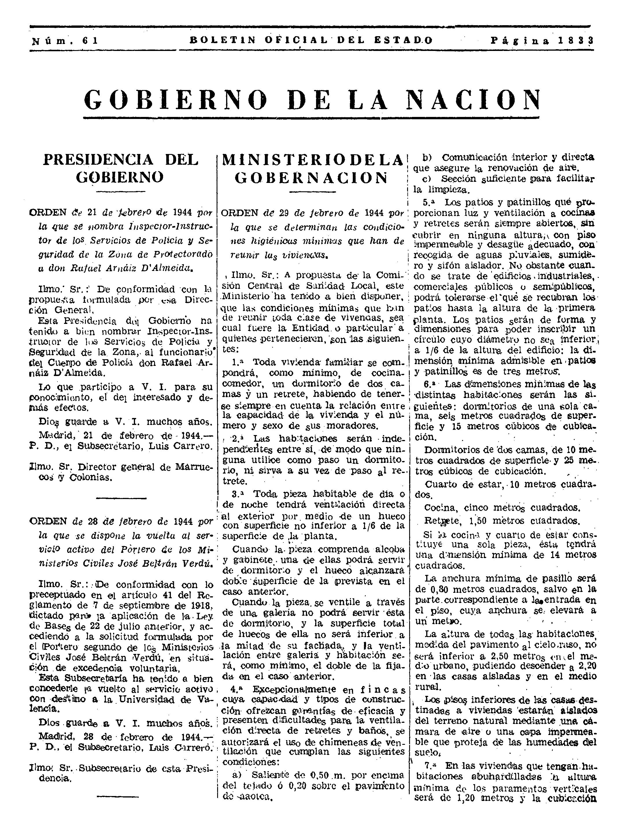 Una ley de 1944, 'culpable' de los bloques sin ascensor