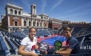 La Plaza Mayor se viste de gala para albergar el Valladolid Open