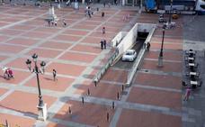 El PP desvela que Patrimonio no autoriza la obra de accesos al párking de la Plaza Mayor