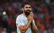 Diego Costa: «Si no juego no voy a poner mala cara»