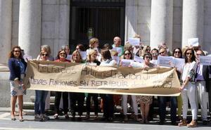 Los letrados de Justicia reclaman en Valladolid mejoras salariales