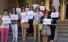 Los letrados de Justicia de Palencia demandan un salario similar a otros cuerpos superiores
