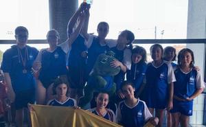 El Acuático Salamanca destaca en el Regional benjamín en León