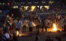 La celebración de la Noche de San Juan en Valladolid provocará cortes de tráfico