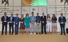 Los galardonados en los Premios Podium