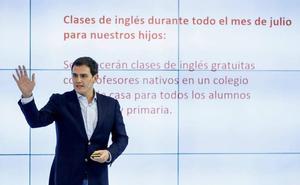 Albert Rivera pide la dimisión de Óscar Puente por su comentario a Pilar Vicente