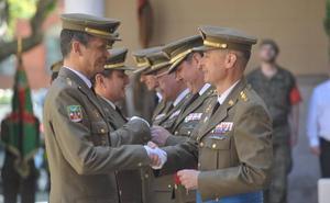 El Ejército reconoce el apoyo prestado por la sociedad en Valladolid
