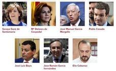 Estos son los siete candidatos a presidir el Partido Popular