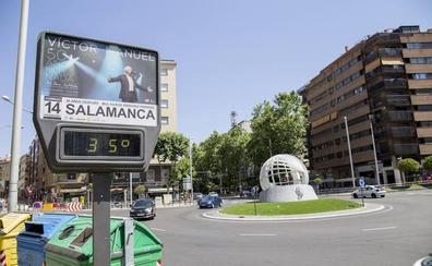 Salamanca, en alerta amarilla por calor y tormentas