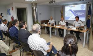 La figura del interlocutor policial sanitario reduce las agresiones en este semestre