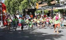 Carrera y paella Solidaria del colegio Modesto Lafuente