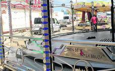 La feria, instalada en La Albuera, dispone de 120 puestos para atracciones y venta ambulante