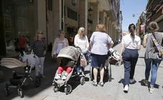 El número de nacimientos en Palencia cae al segundo mínimo histórico