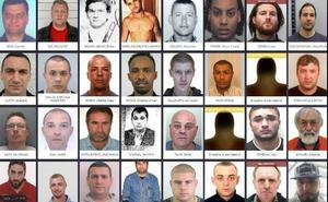 Los hombres peligrosos más buscados en Europa