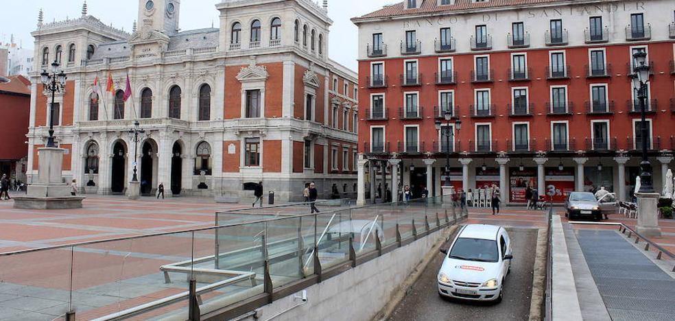 La Junta rechaza compaginar las catas en la Plaza Mayor de Valladolid con la obra de los accesos
