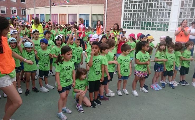 I Marcha-Carrera solidaria del Colegio Sagrado Corazón la Anunciata de Valladolid