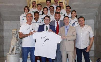 Recepción al Caja Rural Atlético Salamanca por su ascenso a División de Honor