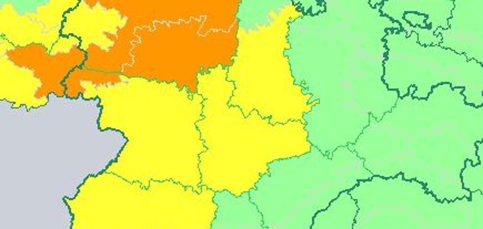 Valladolid, en alerta amarilla por lluvias y tormentas
