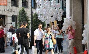 Casi 150 comercios participan mañana en la 'Shopping Night' de Valladolid