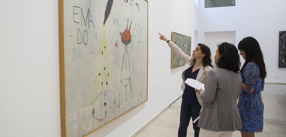 El Patio Herreriano viaja en el tiempo hasta la pintura de los años 80