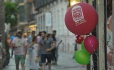 La 'Shopping Night' de Valladolid reivindica el comercio del centro de la ciudad