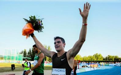 Hortelano revienta el histórico récord de 400 de Cornet en Madrid