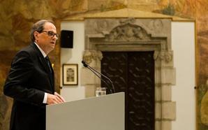 Torra rectifica y asistirá hoy con el Rey y Sánchez a la inauguración de los Juegos Mediterráneos