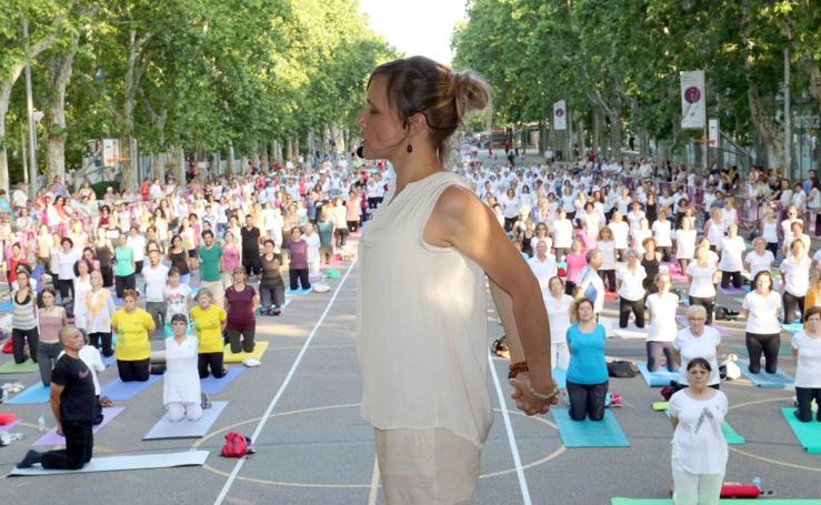 Masterclass de yoga en Recoletos
