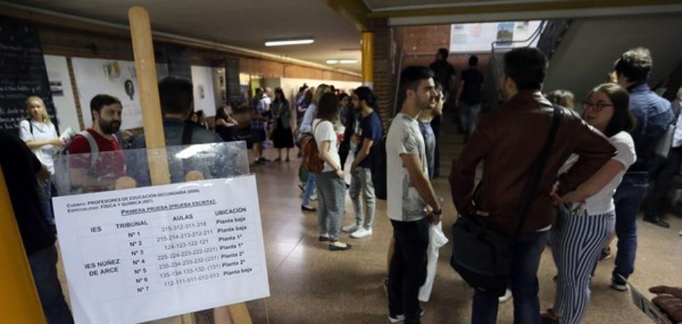 La mayor oposición desde 2009 facilitará plaza a uno de cada tres profesores interinos