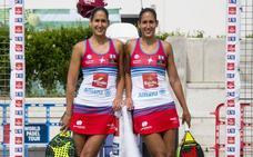 Las gemelas Sánchez Alayeto, primeras finalistas del Valladolid Open de pádel