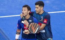 Sanyo y Maxi arrollan a Mieres y Lamperti y completan la final del Valladolid Open 2018