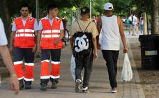 56 personas reciben asistencia sanitaria en La Noche de San Juan en Valladolid
