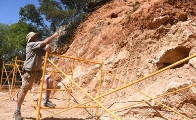 El equipo de Atapuerca buscará rastros homínidos de hace millón y medio de años