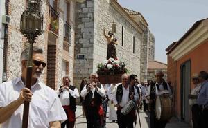 Sardón de Duero se vuelca con su patrón y disfruta de las fiestas