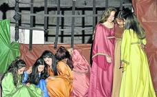 La presidenta de las Cortes alaba la valentía igualitaria de las Siete Doncellas