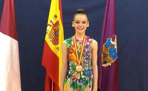 Bronce para Valeria Carballo en el Campeonato de España Absoluto Individual de rítmica