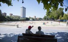Valladolid, Burgos, Palencia y Soria están en riesgo este lunes por calor; León y Zamora, por tormenta