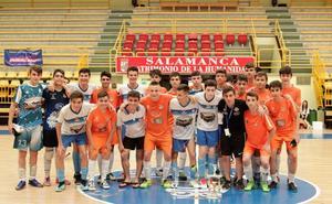 Las finales ponen el broche de oro a un gran Torneo Internacional de fútbol sala en Salamanca