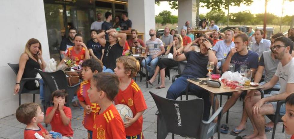 Valladolid sufre con la Roja