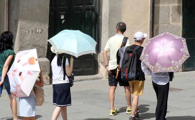 Jornada de intenso calor en Segovia